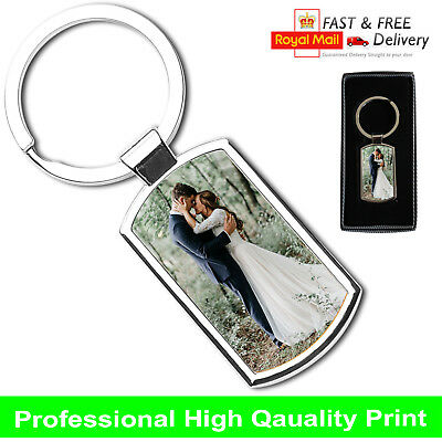 Premium Personalised Photo Keyring + FREE Gift Box