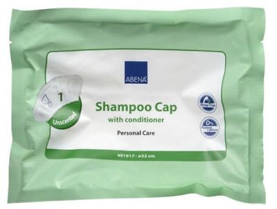 Abena Shampoo Cap - With Conditioner - Unscented - Rinse Free 3 Packs