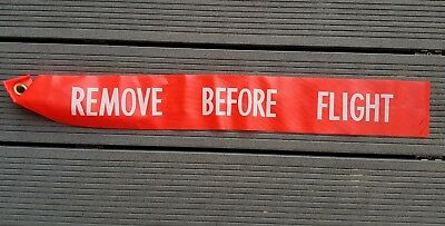 remove before flight Original 60er 70er Jahre Starfighter F 104 Tornado Wartung