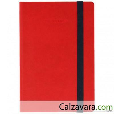 Legami - Notebook Taccuino - Large cm 17x24 - Bianco Plain - Rosso Red