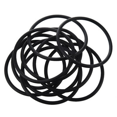 10 pieces 90 mm x 5mm Black nitrile rubber O-ring seal NBR grommets L3I8