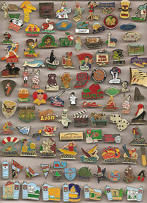 Lot De 97 Pin's Divers Sans Attaches (Ref 018)