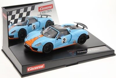 Carrera Evolution Porsche 918 Spyder 20027549 Gulf Racing Number 02, Vehicle