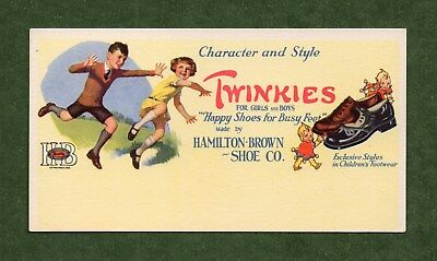 TWINKIES (Hamilton-Brown) SHOES Blotter - Happy Shoes for Busy Feet, Great Cond
