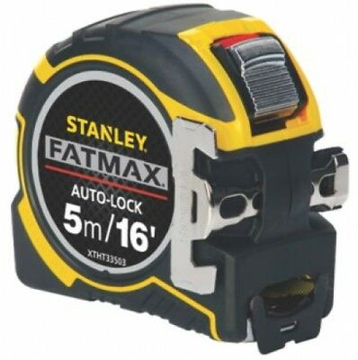 Stanley FatMax Auto-Lock Tape Measure 5m