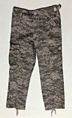 """""""Jr. G.I."""" Kids Vintage Paratrooper Fatigue BDU Pants by Rothco Size S FREE SHIP"""