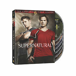 NEW Supernatural: The Complete Sixth Season (DVD, 2011, 6-Disc Set)