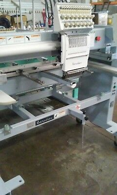2004 Barudan BEDTHE-ZQ-C01 Embroidery Machine