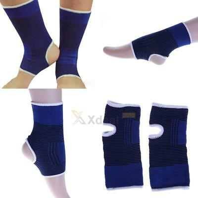 2pcs/set Elastic Ankle Support Protection Sport Running Outdoors Ankle Pads Gear