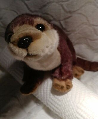 Sea otter plush stuffed animal from SOS Save Our Space, 2012, adorable, lifelike