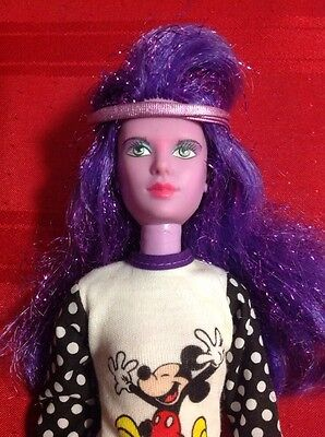 Jem and the Holograms SYNERGY Doll by Hasbro - Purple Glitters Hair