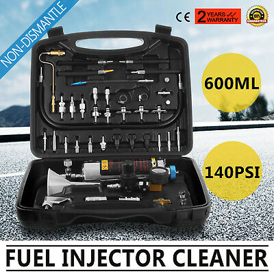 Auto C-100 Non-Dismantle Fuel System Cleaner Petrol Car Tester Fuel System140PSI