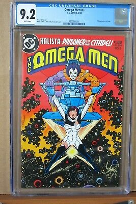 The Omega Men #3 CGC 9.2 first Appearance of LOBO, Griffen & DeCarlo Cover & Art