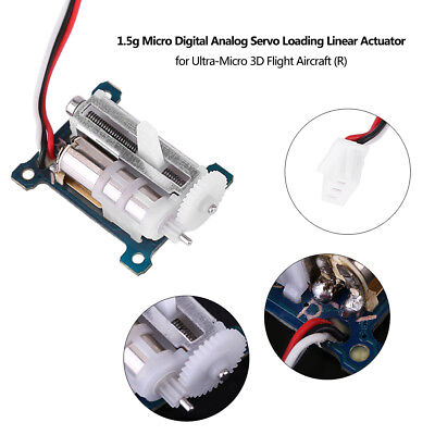 1.5g Micro Digital Analog Servo Loading Linear Actuator Servo 3.7V-5V SG