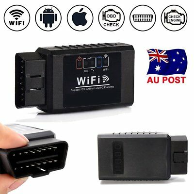 Wifi OBD2 ELM327 Car Auto Diagnostic Scanner iPhone Android Torque Scan Tool