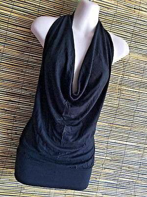 Lot of 5 backless cowl spandex tops.Very flattering design.five colors.Boho.New