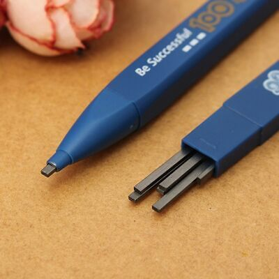 Automatic Lead Holder Testing Exam Mechanical Pencil 6PCs Lead Refills