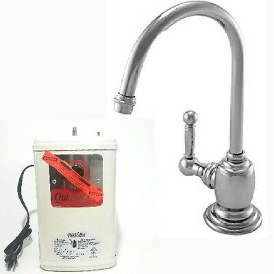 NEWPORT BRASS INSTANT HOT WATER Nadya, Antique Nickel, Pewter 107H-15A MSRP $490