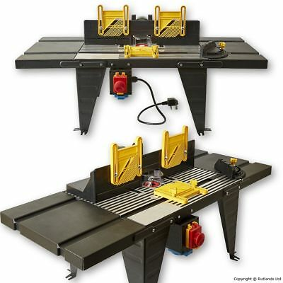 Router Table with NVR Switch