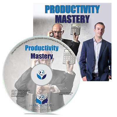 Productivity Mastery Hypnosis CD - Unleash the Power of Hypnotherapy to Make You