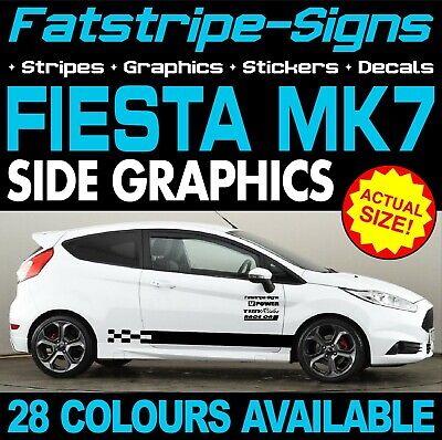 Sticker Tape Stickers Bottom Connection Ford Fiesta Sport Car Tuning