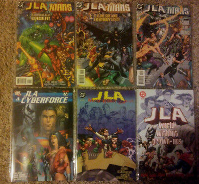JLA Titans (1998) 1 2 3 Cyberforce 1 World Without Grown-ups 1 2  Justice League