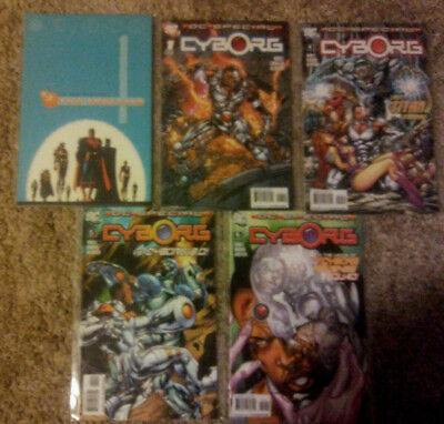 DC Two Thousand (2000) 1 DC Special Cyborg (2008) 1 4 5 6 JLA  Justice League