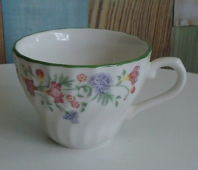 Pretty Churchill England Replacement Flat Cup *Floral 'Emily' Pattern