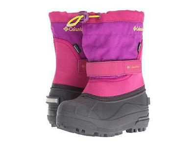 NIB Girl Columbia Winter/ Snow Boots Toddler Powderbug Plus II kids Sizes 6 7