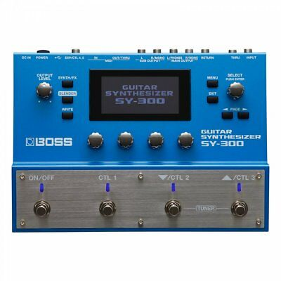 Boss SY-300 Guitar Synthesizer Multi Effects Processor (B stock)