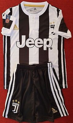 best loved 25d93 89a5b ADIDAS JUVENTUS FC Home Kid Kit 2017/18 Season NO:10 DYBALA New Without Tag
