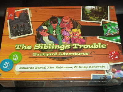The Siblings Trouble Backyard Adventures - Awesome Games Board Game New!