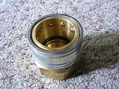 "New Dixon 2"" NPT Brass Quick Coupling 12EF12-B Series 12E"