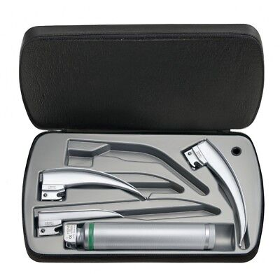 HEINE Classic+ F.O. Laryngoscope Set with Standard F.O. LED Battery Handle