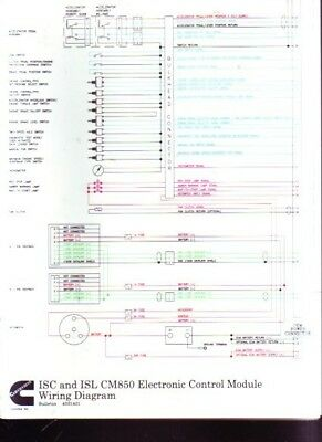 Cummins Diesel ISC ISL CM850 ECM Control Module i32 iota emergency ballast wiring diagram emergency ballast 4 iota i32 emergency ballast wiring diagram at gsmx.co