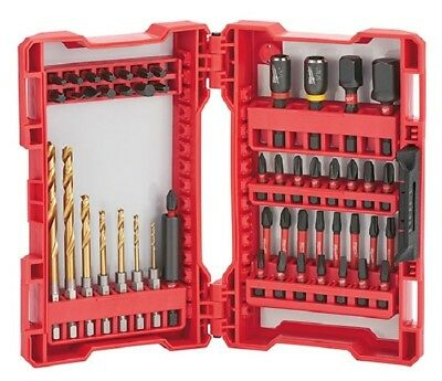 Milwaukee 48-32-4013 50 pc. Shockwave Impact Drill and Driver Set