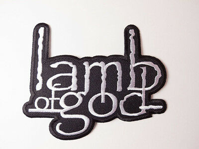Lamb of God Iron on Embroidered Patches Band Music