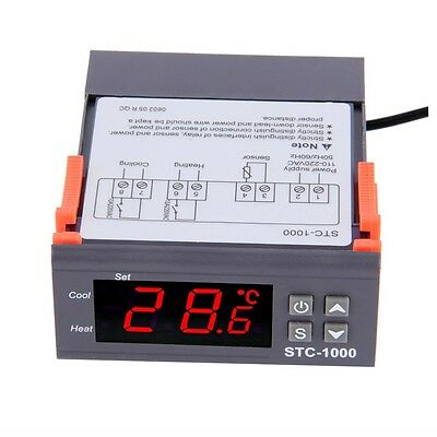 Digital STC-1000 All-Purpose Temperature Controller Thermostat With Sensor YP