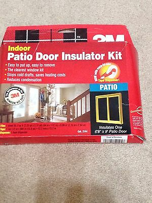 Great 3m Patio Door Insulator Kit Images Doors Design Ideas Nib 3m Indoor Patio  Door Insulator Kit