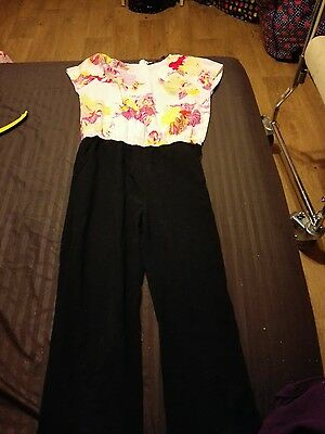 Girls Ted Baker Jumpsuit. Age 9 Years.