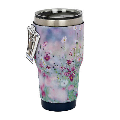 c4b62b81f12 PURPLE AND PINK Heart Yeti, Tumbler, Thermos or Cup Sleeve ...