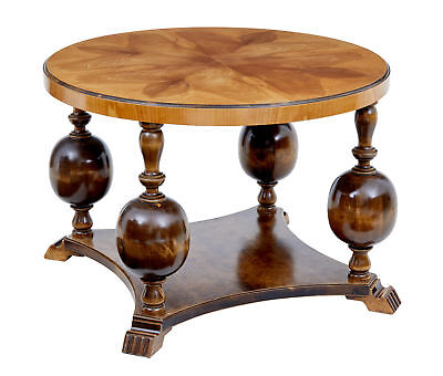 20Th Century Birch And Elm Deco Coffee Table