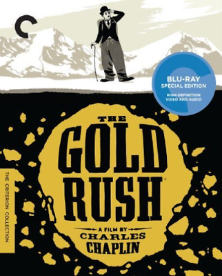 `CHAPLIN,CHARLIE`-GOLD RUSH  (US IMPORT)  Blu-Ray NEW