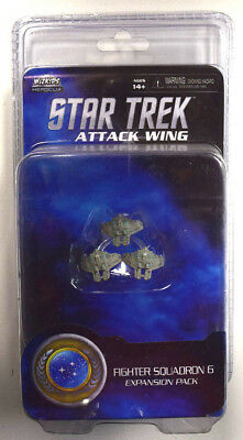 HeroClix Star Trek Attack Wing - Fighter Squadron 6 Expansion Pack