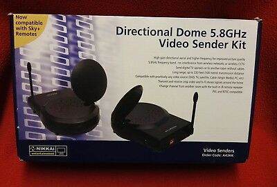 Nikkai Directional Dome 5.8ghz Video Sender Kit