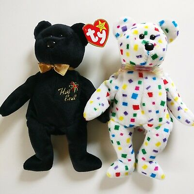 Ty Beanie Babies 'The End' and 'Ty2K' Millennium Bear Retired