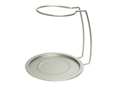 Vinotemp EP-RACK001 Epicureanist Decanter Drying Rack and Tray - Silver