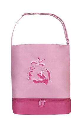 BAL-05 PINK    Ballet Tote Bag with Shoe compartment