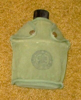 1944 Boy Scout Metal Water Canteen with Canvas Cover