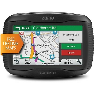 Garmin Zumo 395LM Motorcycle Bike GPS Navigator UK & Europe LIFETIME Map Updates